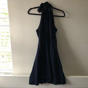navy betsey johnson dress